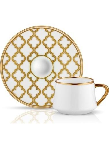 Koleksiyon Sufi Viyana Türk Kahvesi 6 Lı Altın Renkli
